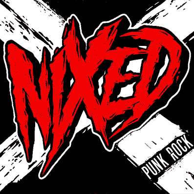 NIXED punk band logo