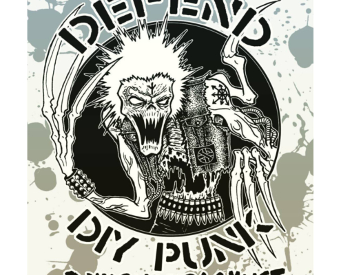 DIY Conspiracy logo Defend DIY Punk