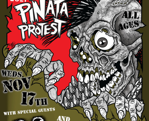 The Casualties Pinata Protest US Tour 2021 Pheonix Theater